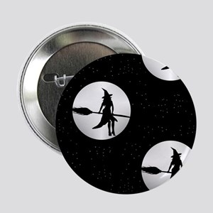 "creepy witch 2.25"" Button"