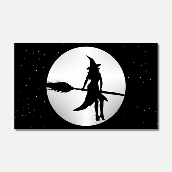 creepy witch Car Magnet 20 x 12