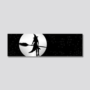 creepy witch Car Magnet 10 x 3