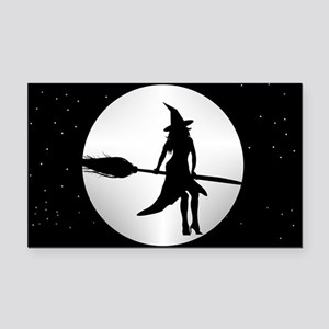 creepy witch Rectangle Car Magnet