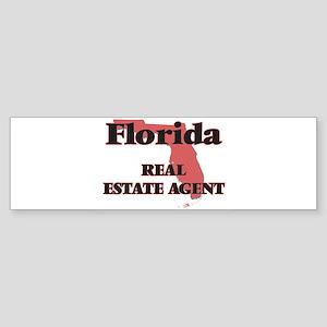 Florida Real Estate Agent Bumper Sticker