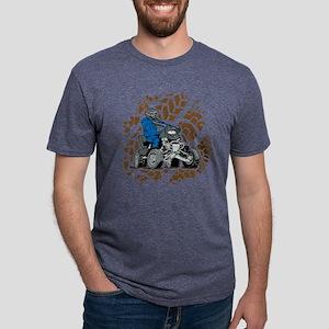 Off Road ATV 4X4 Mens Tri-blend T-Shirt