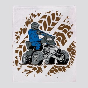 Off Road ATV 4X4 Throw Blanket