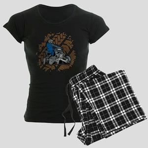 Off Road ATV 4X4 Women's Dark Pajamas