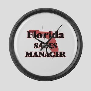Florida Sales Manager Large Wall Clock