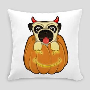 Halloween Pug Everyday Pillow