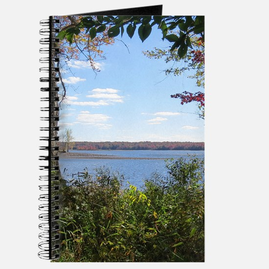 Reservoir Nature Scenery Journal