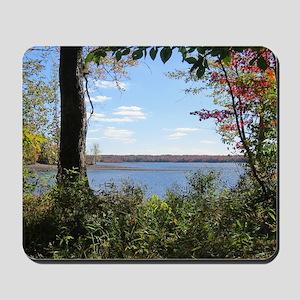 Reservoir Nature Scenery Mousepad