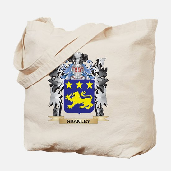 Shanley Coat of Arms - Family Crest Tote Bag