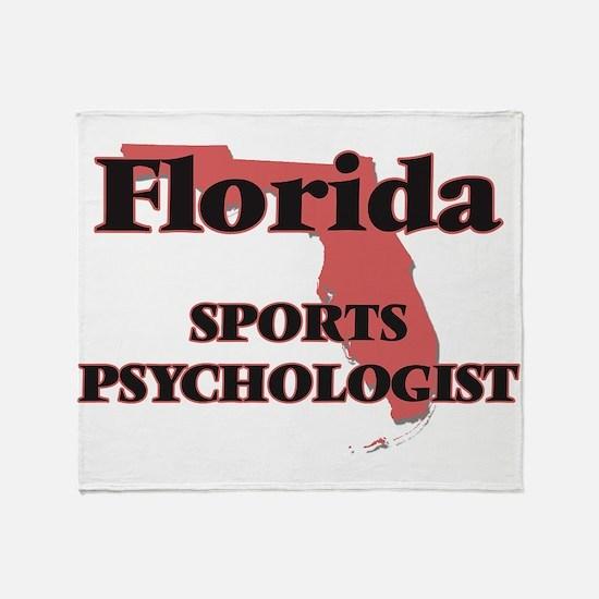 Florida Sports Psychologist Throw Blanket
