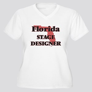 Florida Stage Designer Plus Size T-Shirt