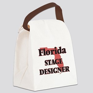 Florida Stage Designer Canvas Lunch Bag