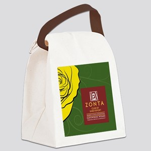 Zonta Shreveport Canvas Lunch Bag