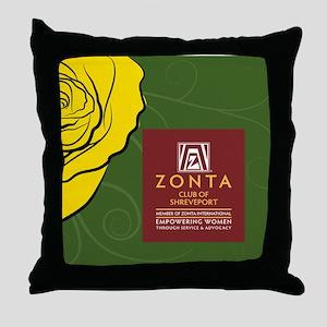 Zonta Shreveport Throw Pillow