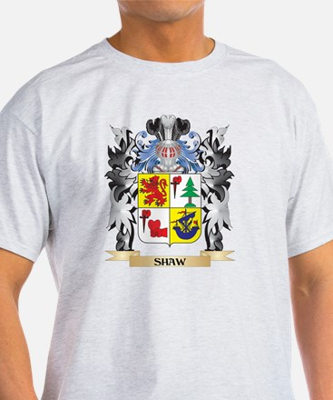 Shaw Coat of Arms - Family Crest T-Shirt