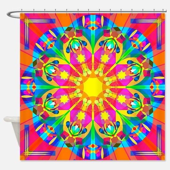 Unique Psych Shower Curtain