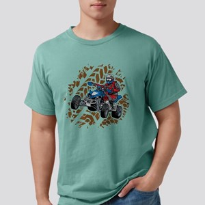ATV Four Wheel Off Road Mens Comfort Colors Shirt