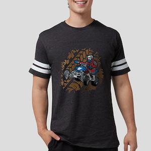 ATV Four Wheel Off Road Mens Football Shirt
