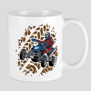 ATV Four Wheel Off Road 11 oz Ceramic Mug