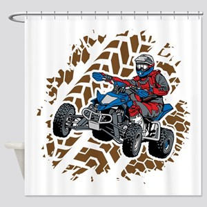 ATV Four Wheel Off Road Shower Curtain