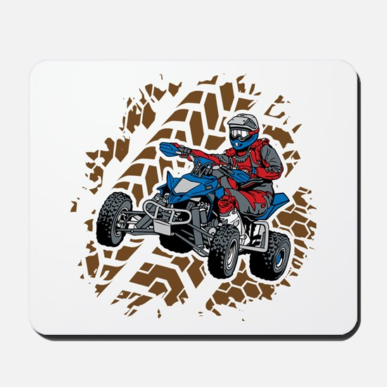 ATV Four Wheel Off Road Mousepad
