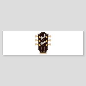 Rock Hard Bumper Sticker