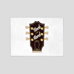 Rock Hard 5'x7'Area Rug