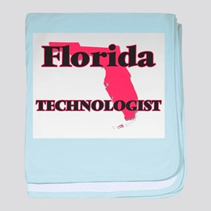Florida Technologist baby blanket