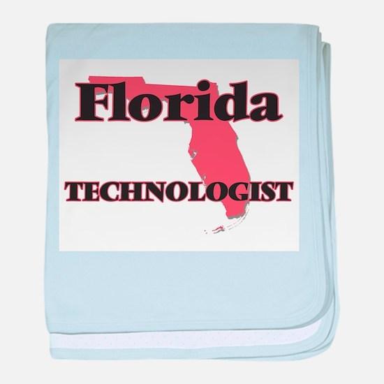 Florida Technologist baby blanket