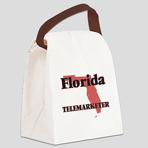 Florida Telemarketer Canvas Lunch Bag