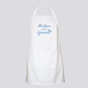 Mother of Groom Blue BBQ Apron