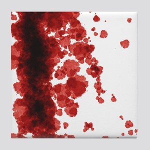 Bloody Mess Tile Coaster