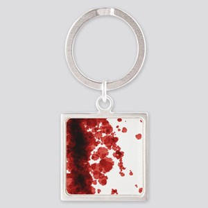 Bloody Mess Square Keychain