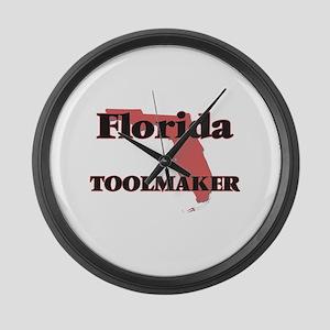Florida Toolmaker Large Wall Clock