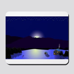 Vermont Winter Scene Mousepad