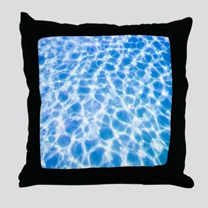 Dappled Water Throw Pillow
