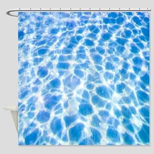 Dappled Water Shower Curtain