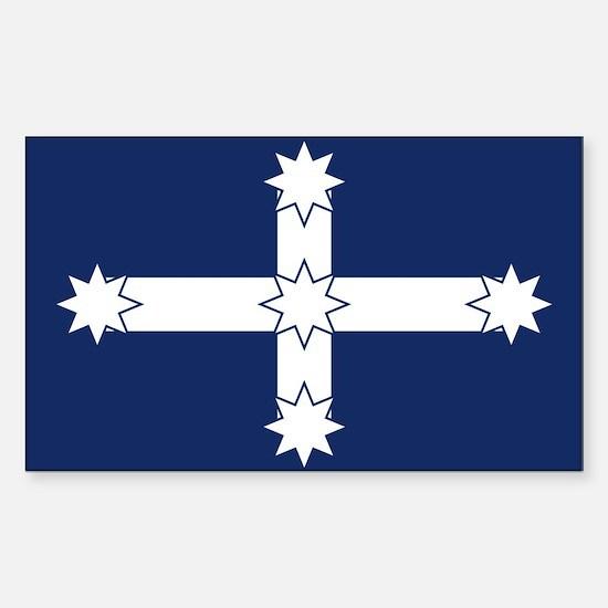 Eureka Flag Sticker (Rectangle)
