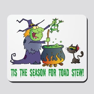 Crazy Witch Mousepad