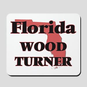 Florida Wood Turner Mousepad