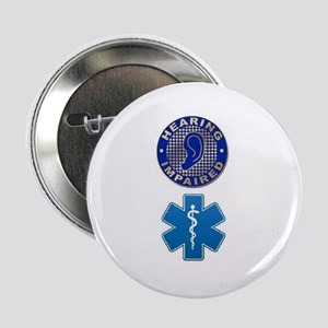 "Deaf Med Combo 2.25"" Button (10 pack)"
