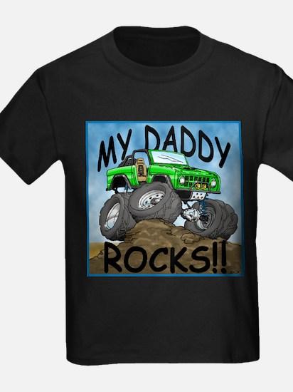 Daddy_Bronco_Green T-Shirt