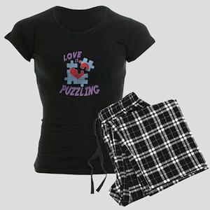 Love Is Puzzling Pajamas