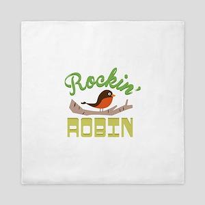 Rockin Robin Queen Duvet