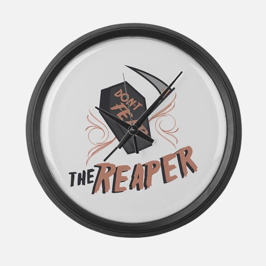 Don't Fear The Reaper Large Wall Clock