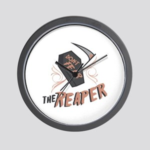 Don't Fear The Reaper Wall Clock