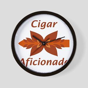 Cigar Aficionado Wall Clock