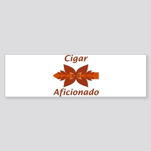Cigar Aficionado Bumper Sticker