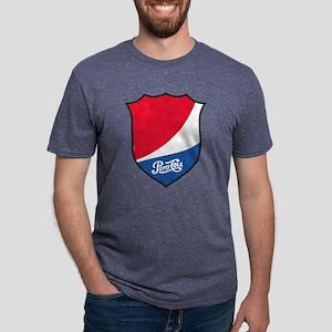 Pepsi Varsity Badge 3 Mens Tri-blend T-Shirt