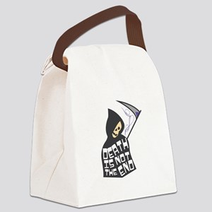 Death Not End Canvas Lunch Bag